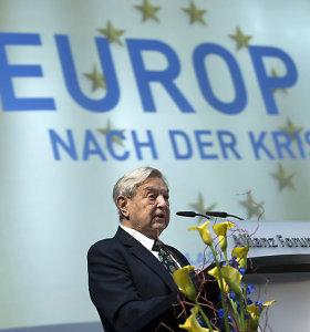"""Antisemito įrankiu lietuvišką žiniasklaidą """"atiduoda"""" G.Sorosui, bet faktų nepateikia"""