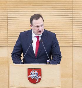 E.Pašilis į teismą padavė Lietuvos valstybę dėl buvusio darbo užterštame teisme