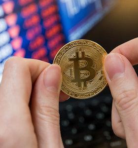 Bitkoino kursas pirmą kartą nuo lapkričio perkopė 6 tūkst. JAV dolerių kartelę