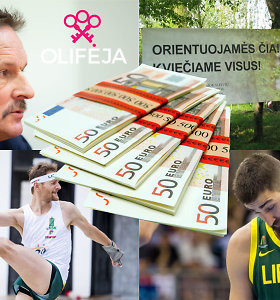 """Valstybės sporto pinigų dalybose – """"Olifėjos"""" šefo globojamų orientacininkų triumfas"""
