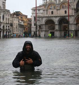 Veneciją lapkritį užliejo vanduo