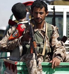 Saudo Arabija numušė Jemeno sukilėlių paleistų raketų