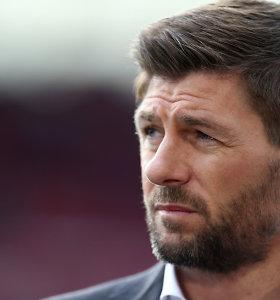 """Stevenas Gerrardas nuo kito sezono vadovaus """"Liverpool"""" jaunimo komandai"""