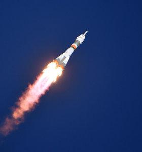 Rusija pradėjo baudžiamąjį tyrimą dėl nesėkmingo erdvėlaivio paleidimo į TKS
