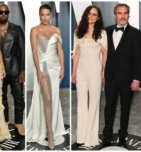 """Po """"Oskarų"""" – trankios garsenybių dūzgės: tarp svečių šėlo ir ekstravagantiškoji Kim Kardashian"""