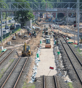 """""""Rail Balticą"""" tikimasi nutiesti pigiau nei įprasta Europoje"""