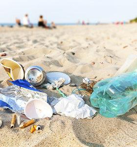 Neringa nesustos – dar labiau ribos plastiko vartojimą kurorte