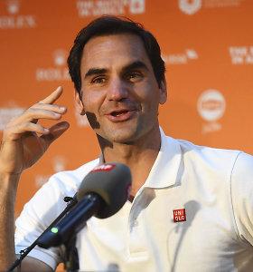Įspūdingi skaičiai: 2019 metais R.Federeris dėl dopingo buvo tikrintas 29 kartus