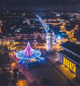 Šventinė Vilniaus magija: net 94 proc. turistų rekomenduotų Vilnių Kalėdoms