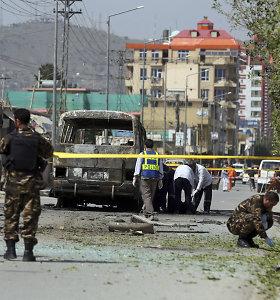 Kabule sprogus autobusui žuvo penki žmonės