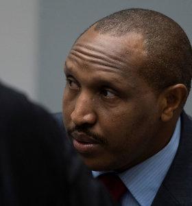 """Kongo kovotojų vadas """"Terminatorius"""" sulaukė griežčiausios TBT bausmės"""