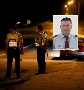 """Elektrėnų komisarą A.Grudinskį kelių policija nubaudė už greitį: """"Džiugu, kad kolegos principingi"""""""