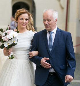 Vilniuje ištekėjo verslininko Vlado Lašo dukra Dalia