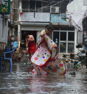 Kinijoje potvyniai per du pastaruosius mėnesius nusinešė 201 gyvybę