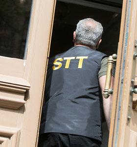 STT: pilietis kyšį Utenos r. savivaldybės teisininkui paliko po dezinfekciniu skysčiu