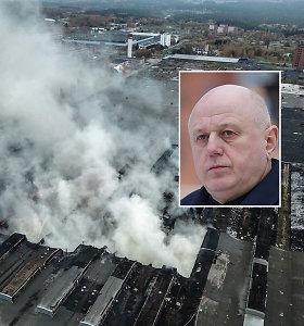"""Dėl gaisro Alytuje patirta žala siekia jau 11 mln. eurų, kiek padengs """"Ekologistika"""" – neaišku"""