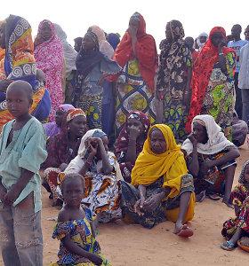 Nigeryje dalijant labdarą pabėgėliams per spūstį žuvo 20 žmonių
