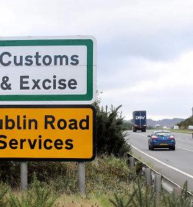 Jungtinė Karalystė sutiko dėl prekių muitinės patikros Šiaurės Airijos pasienyje