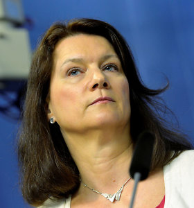 """Naujoji Švedijos diplomatijos vadovė A.Linde tęs """"feministinę užsienio politiką"""""""