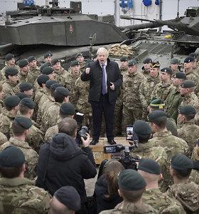 Estijos premjeras padėkojo B.Johnsonui už JK įnašą užtikrinant saugumą