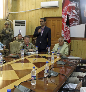 Per NATO ir Afganistano pareigūnų susitikimą nušautas Kandaharo policijos viršininkas