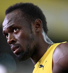 Po didelio vakarėlio – Usaino Bolto saviizoliacija dėl koronaviruso