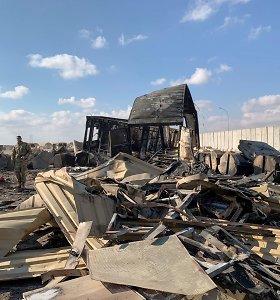 Pentagonas patikslino per Irano raketų smūgį Irake nukentėjusių JAV karių skaičių