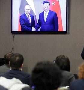 V.Putinas ir X.Jinpingas įjungė naująjį dujotiekį iš Sibiro į Kiniją