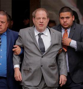 Dėl seksualinių nusikaltimų nuteistas Holivudo režisierius Harvey Weinsteinas užsikrėtęs koronavirusu