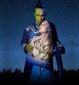 """Jeronimas Milius debiutuos žalčio vaidmeniu: į sceną sugrįžta miuziklas """"Eglė žalčių karalienė"""""""