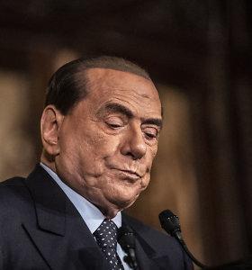 Italijos ekspremjerui S.Berlusconi atlikta operacija