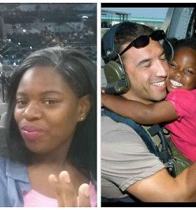 """Padėka po 11 metų: uraganą """"Katrina"""" išgyvenusi mergaitė savo gelbėtoją pakvietė į mokyklos šokius"""