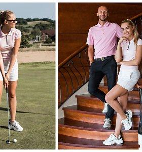 """Rūta Elžbieta Mazurevičiūtė atrado naują aistrą golfui: """"Tai buvo viena iš mano senų svajonių"""""""
