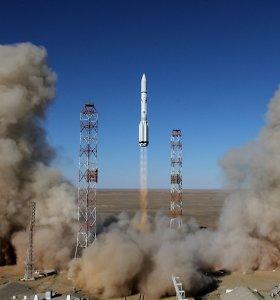Į kosmosą iškeltas unikalus palydovų aptarnavimo palydovas