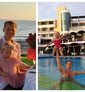 """Vaikus per atostogas prižiūrėti turėjęs Nerijus Juška: """"Man tai yra džiaugsmas"""""""