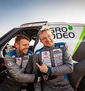 MINI automobiliai Dakaro ralyje