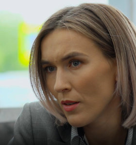 """Serialo """"Rimti reikalai"""" aktorė E.Ancevičiūtė paatviravo apie kūrybą ir jausmus: """"Esu įsimylėjusi"""""""