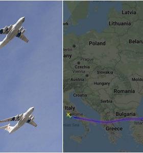 Ne, Lenkija netrukdė Rusijai skraidinti humanitarinę pagalbą į Italiją