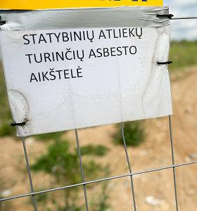Statybinio laužo sąvartynas sostinėje: gyventojai bijo šiukšlių kalnų, įmonė ginčijasi su aplinkosauga