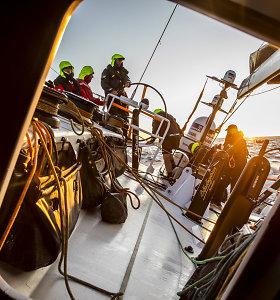 """Baltijos jūrą pasimatavusių žurnalistų įspūdžiai: ką reiškia plaukti su """"Ambersail 2"""" jachta?"""