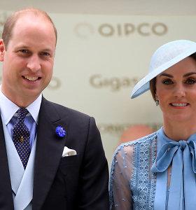 Britanijos princas Williamas su žmona Kate vyks į Pakistaną
