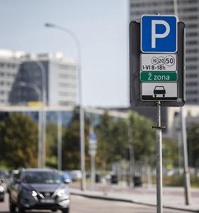 Pamirškite pigų parkavimą netoli Vilniaus Senamiesčio: žalia zona stumiasi tolyn nuo centro
