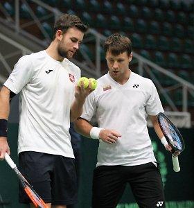 ATP reitingas: pozicijas pagerino pirmosios dvi šalies raketės