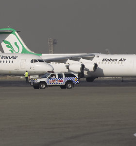 Vokietija uždarė savo oro uostus Irano oro bendrovei