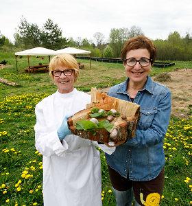 Sraigių ūkį atokiame kaime įkūrusių draugių gaminius graibsto užsieniečiai, bet namuose jos laukia lietuvių