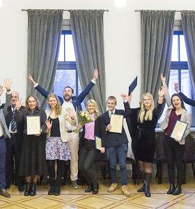 Aktyviausius regionų jaunuolius įvertino už žygdarbius ir kūrybiškumą