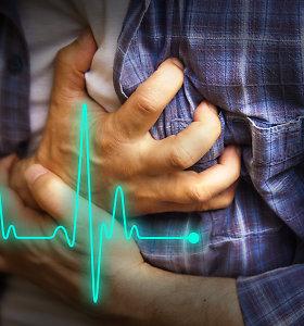 Veiksniai, didinantys infarkto arba insulto riziką. Kardiologės patarimai