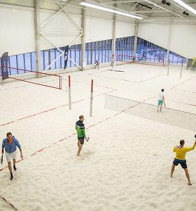 Vilniuje duris atvėrė universalus sporto centras