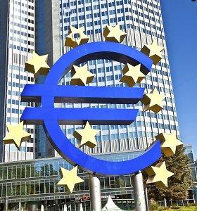 Europos centrinis bankas yra pasirengęs suteikti daugiau paskatų, jei to reikės