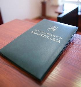 Seime – siūlymas Konstitucijoje siaurinti parlamentarų, teisėjų, ministrų imunitetą